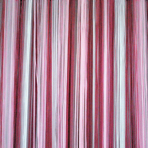 Кисея радуга облегченная белая-розовая-тем.розовая. Арт.1-5-6