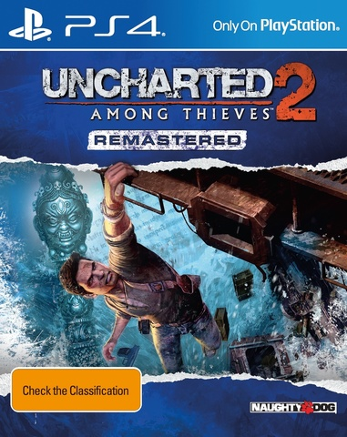 PS4 Uncharted 2: Среди воров. Обновленная версия (русская версия)