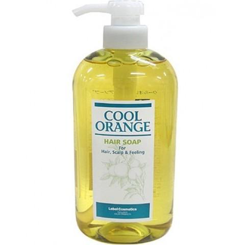 Шампунь для волос COOL ORANGE HAIR SOAP COOL, 600 мл.