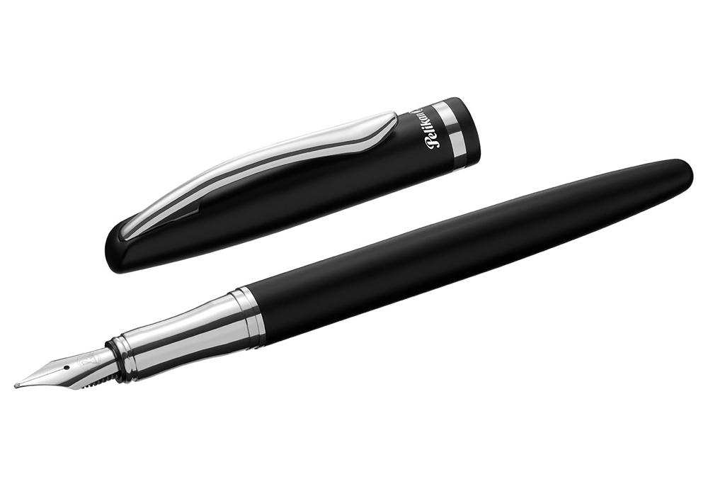 Pelikan Jazz Elegance - Black Chrome, перьевая ручка, M