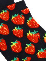 Короткие носки Клубника