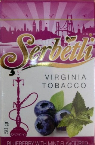 Serbetli Blueberry with mint