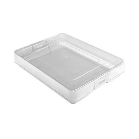 Контейнер для документов Стамм КТ10 пластиковый А4 (260x350 мм, 1 отделение)