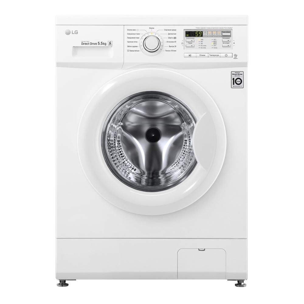 Узкая стиральная машина LG с системой прямого привода F10B8MD