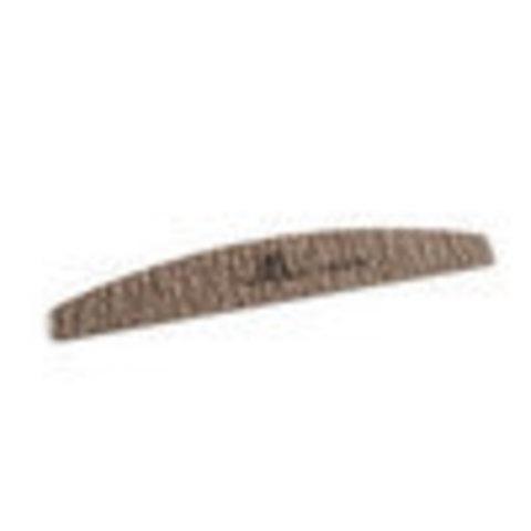 Пилка для ногтей лодочка 100/100 экстра-класс (коричневая) в индивидуальной упаковке