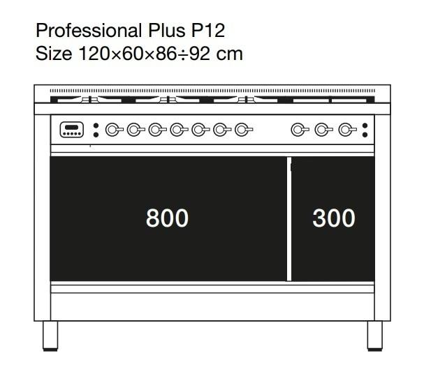 Газовая плита ILVE P12FINE3