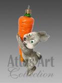 Выросла моя морковка