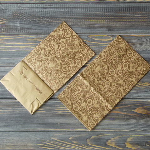 Крафт-пакет ОГУРЦЫ коричневые (10*19*7см)