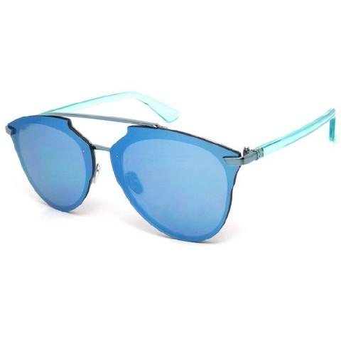 Солнцезащитные очки 1971002s Синие зеркальные