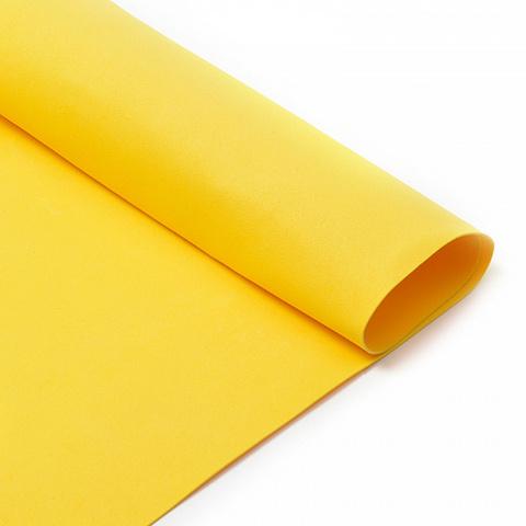 Фоамиран 1мм ярко-желтый