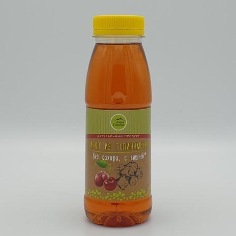 Сироп из топинамбура с вишней ДАРЫ ПАМИРА, 330 гр