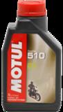 Моторное масло полусинтетика Motul 510 2T 1л для мотоцикла