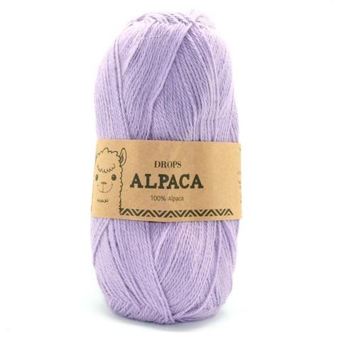 Пряжа Drops Alpaca 4050 сиреневый