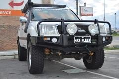 Бампер силовой Delux Commercial Toyota Landcruiser 105