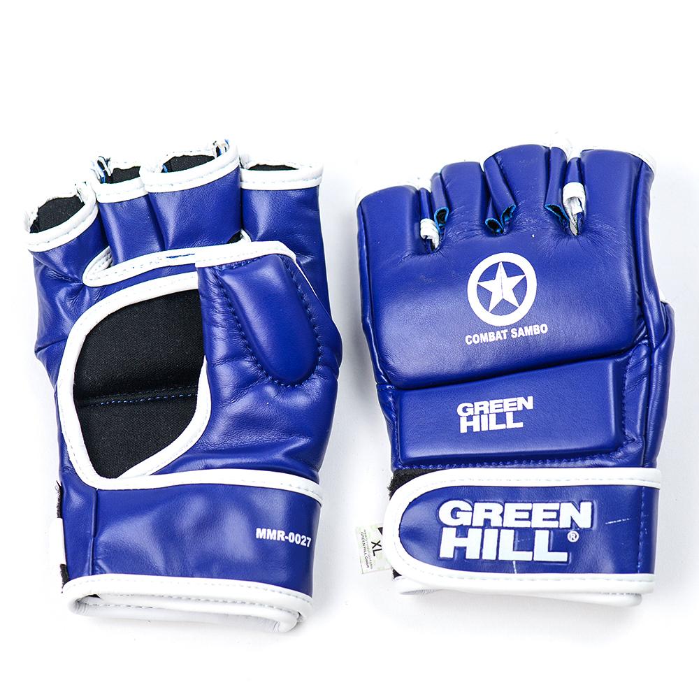 Перчатки Перчатки Combat Sambo Green Hill синие 298.jpg