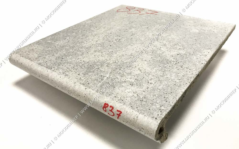 Stroeher - Keraplatte Roccia 837 marmos 340x240x12 артикул 9240 - Клинкерная ступень - флорентинер