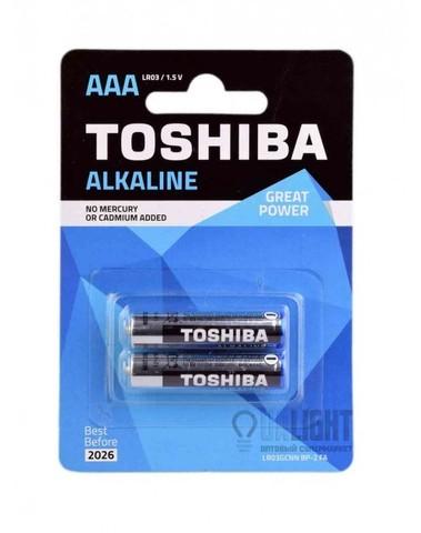 Батарейки Toshiba Alkaline LR03, AAA (2/48) BL
