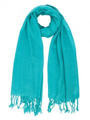 108-100 шарф женский, бирюза