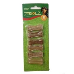 Triol лакомство для маленьких пород собак Кость из жил №2 длина 5 см, 6 штук в упаковке