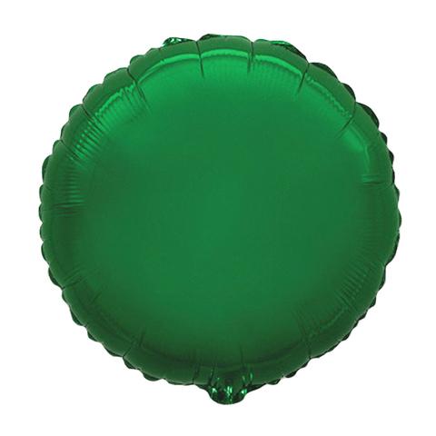Шар-круг Зеленый 45 см