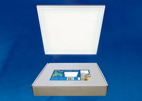 ULP-3030-18W/NW EFFECTIVE WHITE Светильник светодиодный потолочный встраиваемый. Белый свет (4000K). Корпус белый. В комплекте с и/п. ТМ Uniel.
