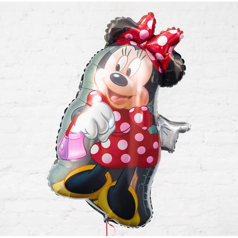 Фольгированный шар Минни танцующая