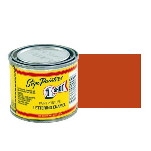 Пинстрайпинг (pinstriping) 100-L Эмаль для пинстрайпинга 1 Shot Красно-оранжевый (Vermillion), 118 мл Vermillion.jpg