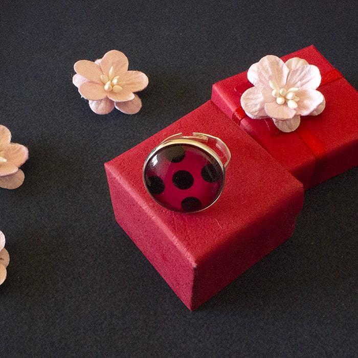 Кольцо Леди Баг - купить в интернет-магазине kinoshop24.ru с быстрой доставкой
