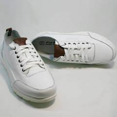 Кроссовки білі чоловічі Faber 193909-3 White.