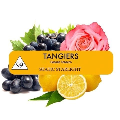 Табак Tangiers T99 Static Starlight (Танжирс Лимон, Виноград, Роза) |Noir 20г