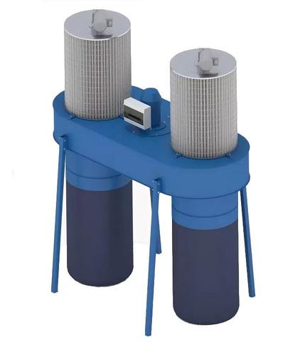 Рециркуляционный пылеулавливающий агрегат ПФЦ-4000