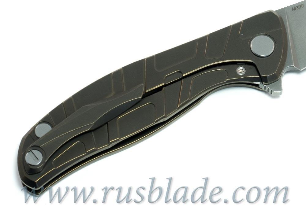 Shirogorov Flipper 95 M390 T-mode w/ bearings