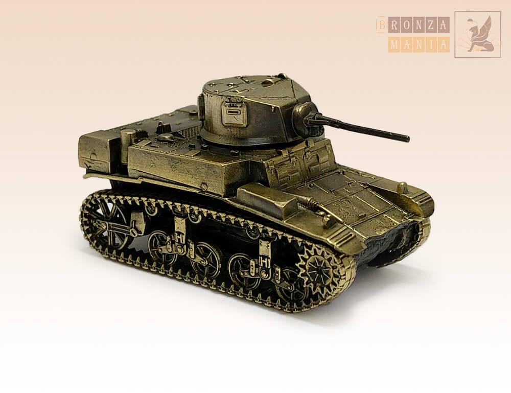 фигурка Танк M3 Стюарт - M3 Stuar (1:100)