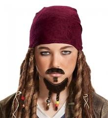 Пираты Карибского моря борода и усы Джека Воробья