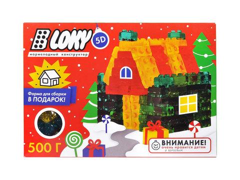 Набор мармелада Строительные блоки - Домик 500 гр.