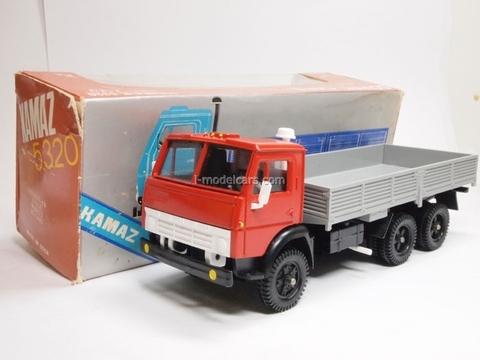 KAMAZ-5320 red-gray Elecon 1:43