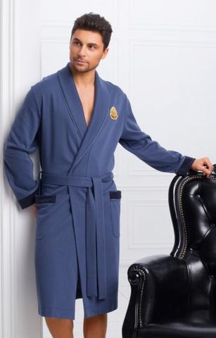 Мужской облегченный халат 30185  Laete