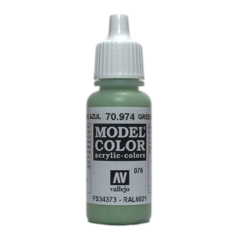 Model Color Green Sky 17 ml.
