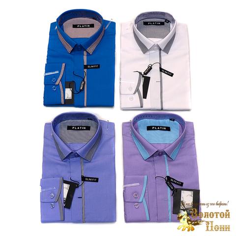 Рубашка для мальчика (116-170) 190620-5052