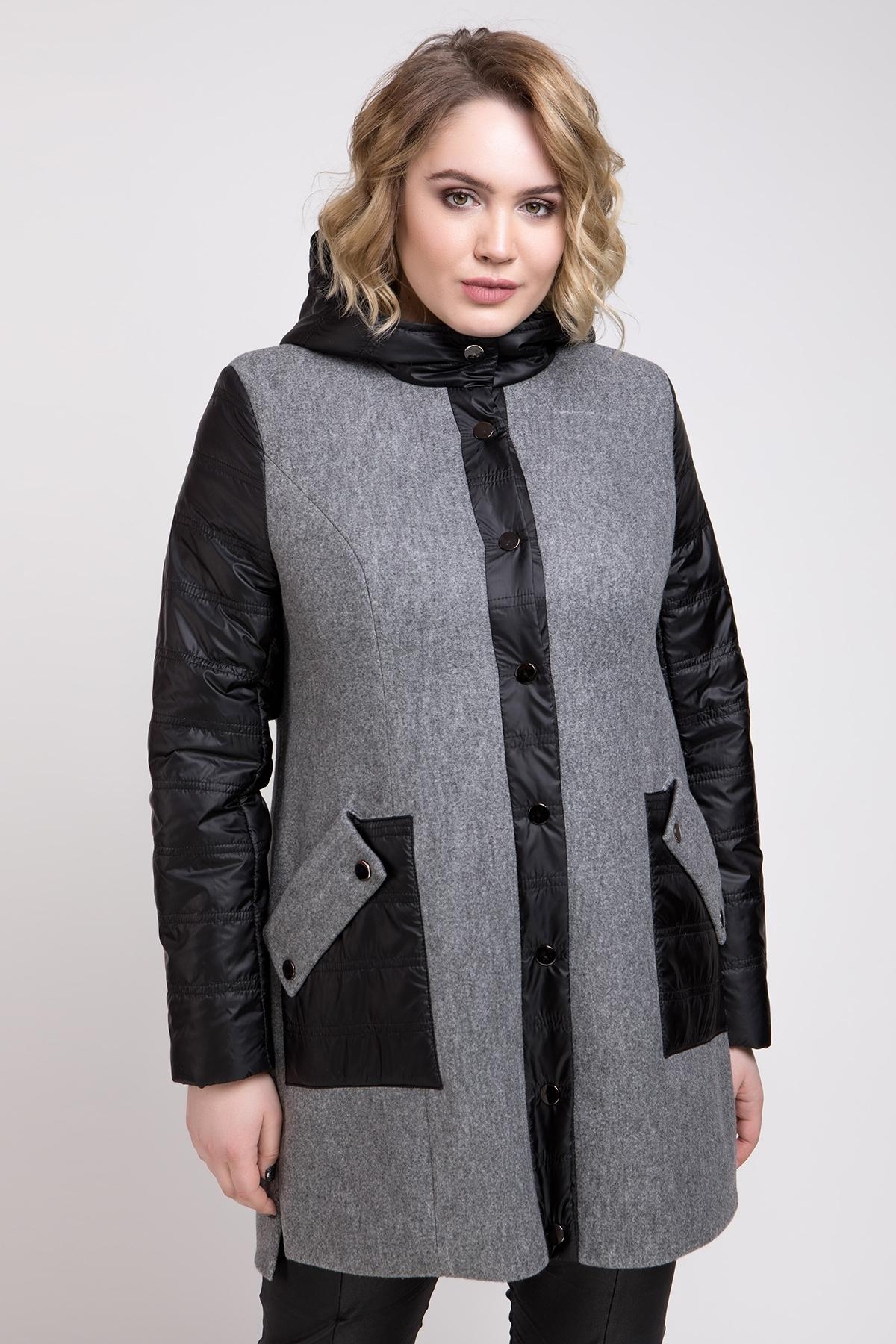 Пальто Астана (светло-серый)