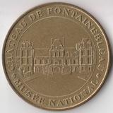 P4341, 2002, Франция, жетон медаль Шато де Фентебло