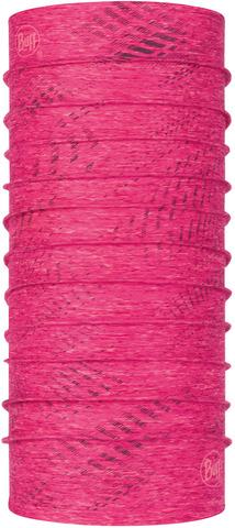 Бандана-труба летняя светоотражающая Buff CoolNet Reflective R-Flash Pink Htr