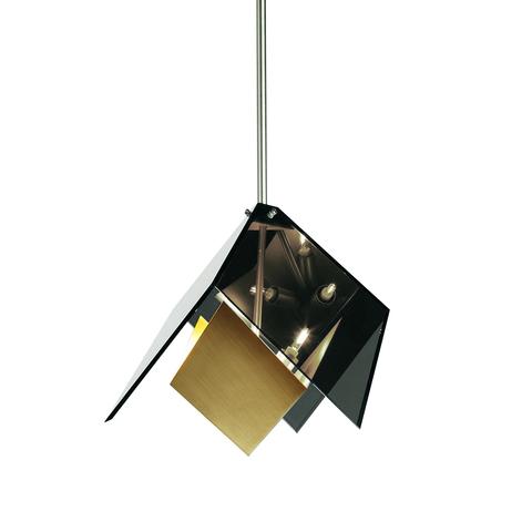 Подвесной светильник копия MAXEDRON by Roll & Hill (дымчатый+золотой)
