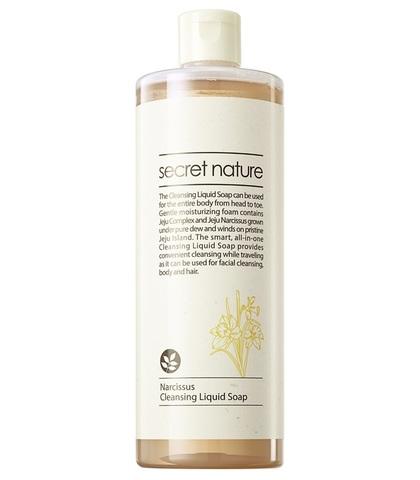 Жидкое мыло для лица и тела с нарциссом - Secret Nature Narcissus Cleansing Liquid Soap