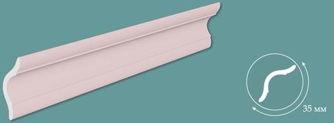 Потолочный плинтус Розовый 1м