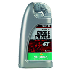 Motorex масло моторное Cross Power 4T 10w50 1L синтетика