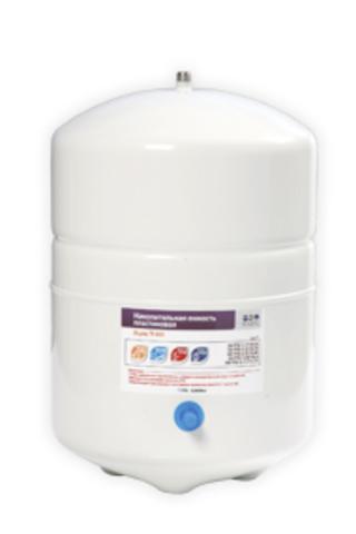 Накопительная емкость металлическая ROT-3W (объем 3 Gal/10 литров, белый) Райфил