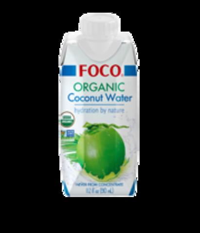 Кокосовая Вода Organic Foco, 1 л