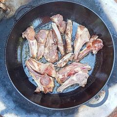 Сковорода-жаровня чугунная 360х60 мм с ручками Ситон