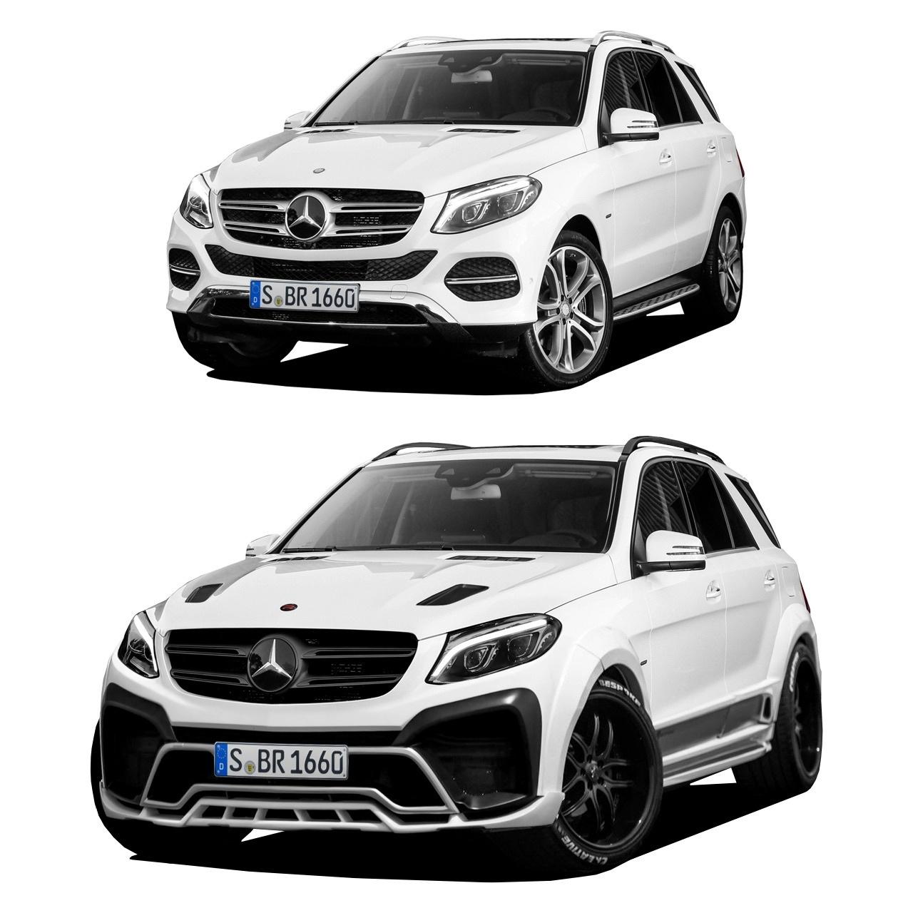 Обвес Renegade Design для Mercedes-Benz GLE